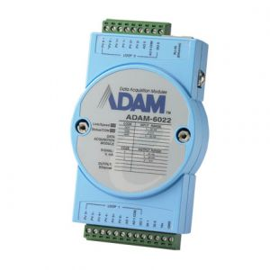 Advantech ADAM-6022 Ethernet-based Dual-loop PID Controller